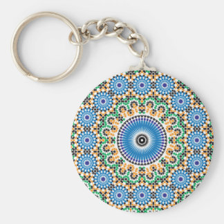 Key-ring with mosaic key ring