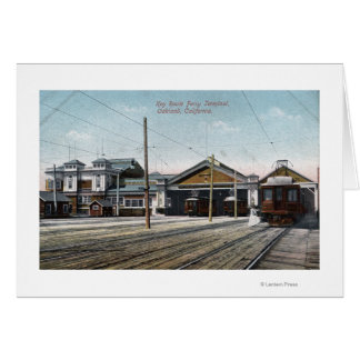 Key Route Ferry Terminal and Railway Card