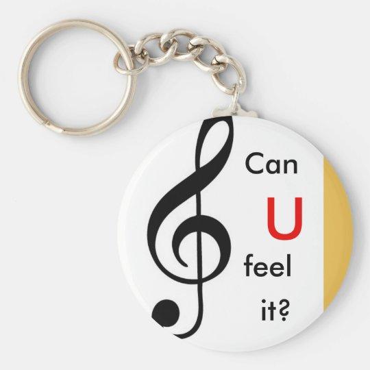 Key sun key ring basic round button key ring