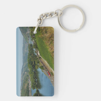 Key supporter central Rhine Valley with Lorch Double-Sided Rectangular Acrylic Key Ring