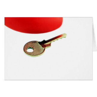 """Key To A Heart"" - Card (Blank)"