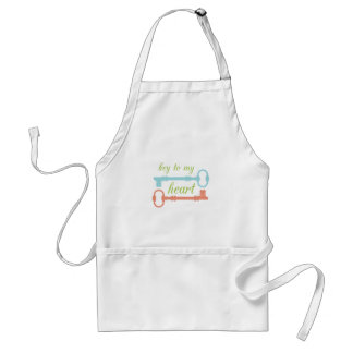 Key To Heart Aprons