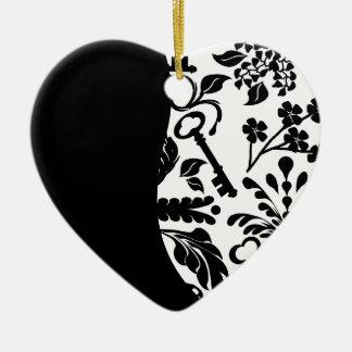 Key to My Heart/ Anniversary Christmas Ornament