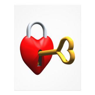 Key To My Heart Flyers