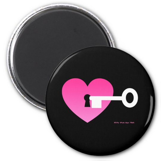 KEY TO MY HEART MAGNET