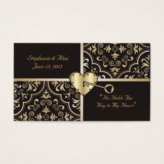 Key to my Heart Place Cards