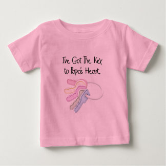 Key to Papa's Heart Tshirts and Gifts