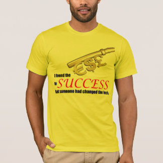 Key To Success Fun Saying T-Shirt