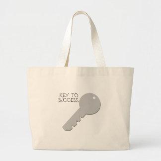 Key to Success Jumbo Tote Bag