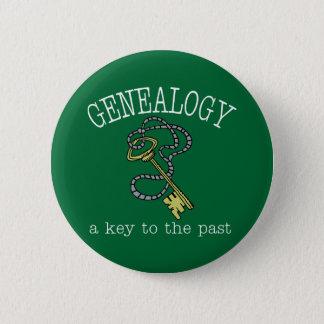Key To The Past 6 Cm Round Badge