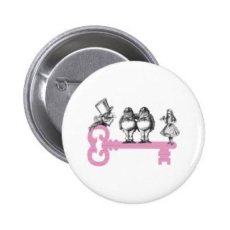 Key to Wonderland 6 Cm Round Badge