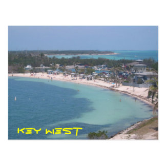 Key West Beach Postcard