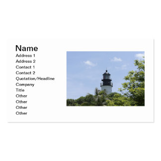 Key West Beacon Business Card Templates