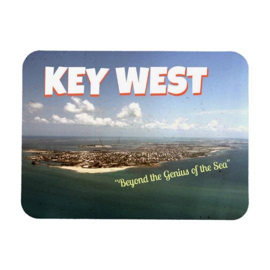 "Key West: ""Beyond the genius..."" magnet"