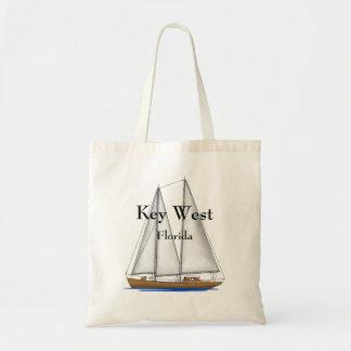 Key West Florida Canvas Bag