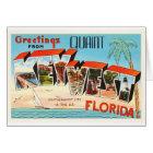 Key West Florida FL Old Vintage Travel Souvenir Card