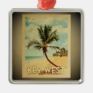 Key West Florida Ornament Vintage Travel