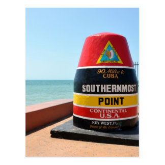Key West Florida Postcard