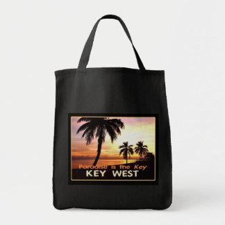 KEY WEST GROCERY TOTE BAG