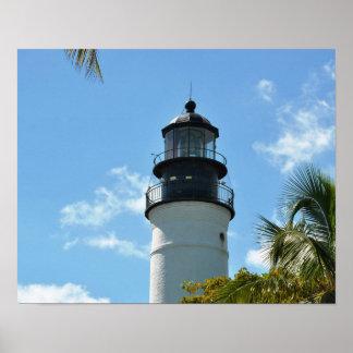 Key West Historic Lighthouse Poster