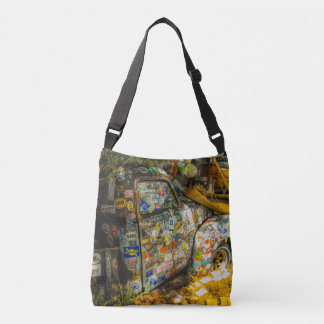 Key West is Art, Old Pickup Truck Crossbody Bag