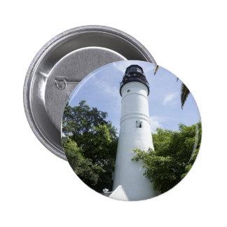 Key West Light 6 Cm Round Badge