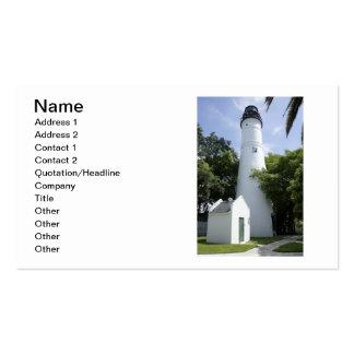 Key West Light Business Card Template