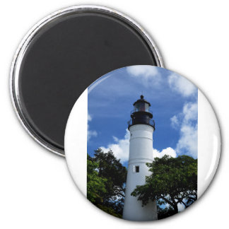 Key West Lighthouse 6 Cm Round Magnet