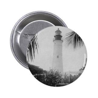 Key West Lighthouse Pinback Buttons