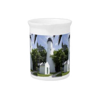 Key West Lighthouse Beverage Pitcher