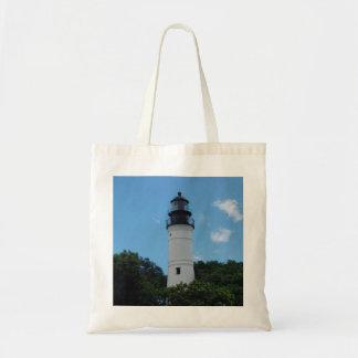 Key West Lighthouse Budget Tote Bag