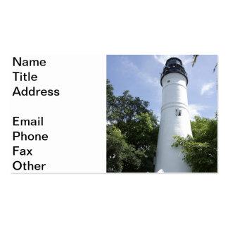 Key West Lighthouse Business Cards