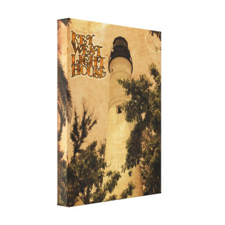 Key West Lighthouse Gallery Wrapped Canvas