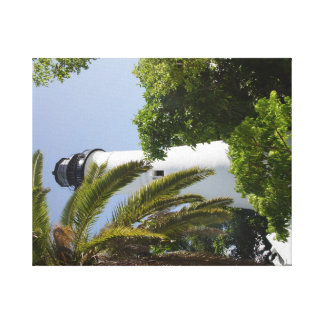 key west Lighthouse Stretched Canvas Prints