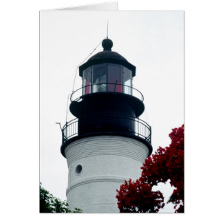 Key West Lighthouse Greeting Cards
