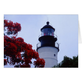 Key West Lighthouse Card