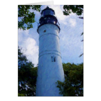 Key West Lighthouse Card