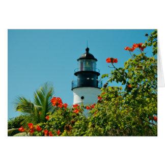 Key West LIghthouse, Florida Blank Card