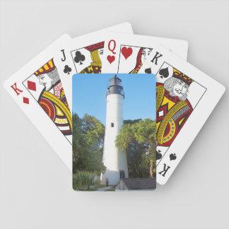 Key West Lighthouse, Florida Poker Deck