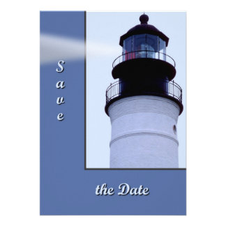 Key West Lighthouse Custom Announcement