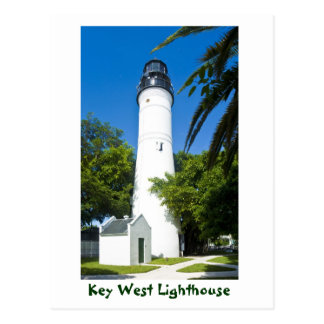 Key West Lighthouse Key West Florida U S A Post Card