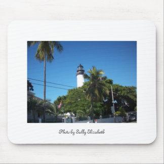 Key West lighthouse mousepad
