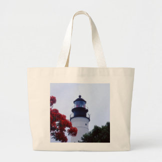 Key West Lighthouse Canvas Bag