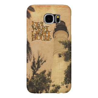 Key West Lighthouse Vintage Photo Samsung Galaxy S6 Cases