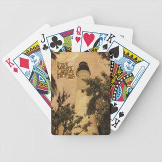 Key West Lighthouse Vintage Photo Deck Of Cards