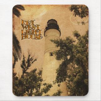 Key West Lighthouse Vintage Photo Mouse Pad