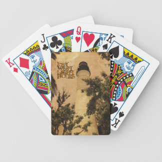Key West Lighthouse Vintage Photo Bicycle Card Deck