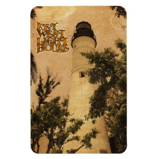 Key West Lighthouse Vintage Photo Rectangle Magnet