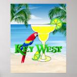 Key West Margarita Poster