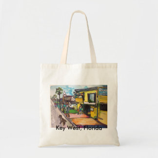 Key West Painting Budget Tote Bag